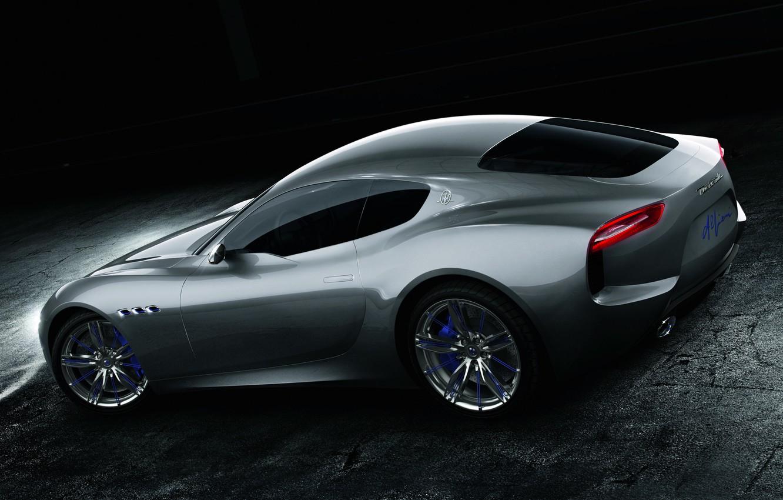 Photo wallpaper Maserati, concept, coupe, alfieri