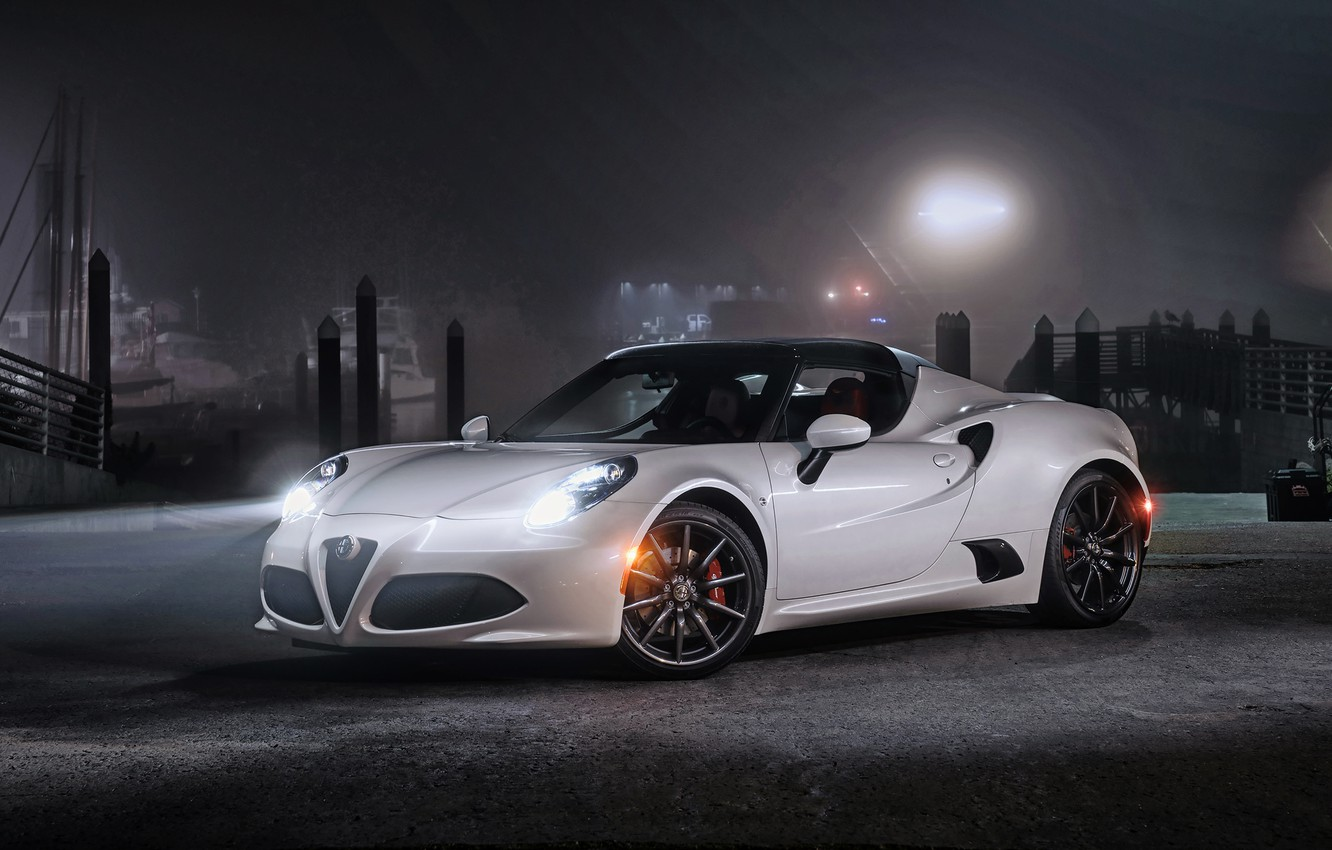 Photo wallpaper Alfa Romeo, Alfa Romeo, Spider, US-spec, 2015, 960