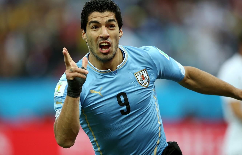 Photo wallpaper football, player, football, Barcelona, player, team, Uruguay, Luis Suarez, Luis Suarez, national team