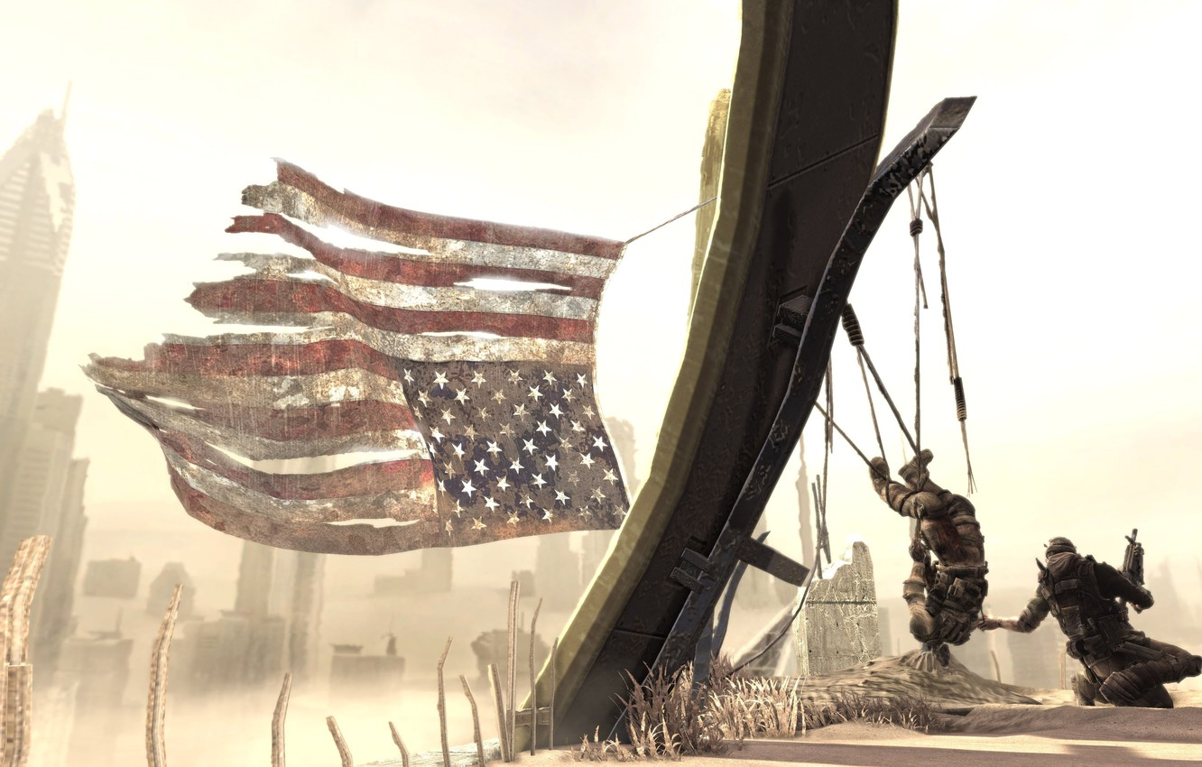 Wallpaper Sand Soldiers American Flag Spec Ops The Line Images