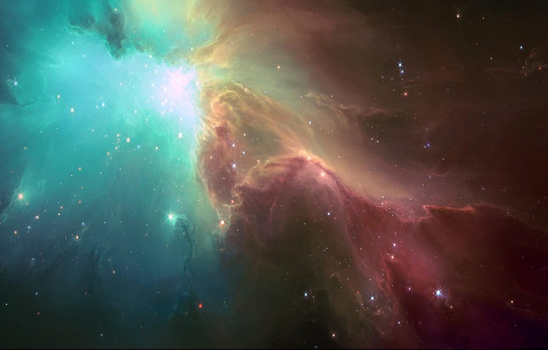 Photo wallpaper space, stars, light, nebula, art, HellsEscapeArtist, TylerCreatesWorlds