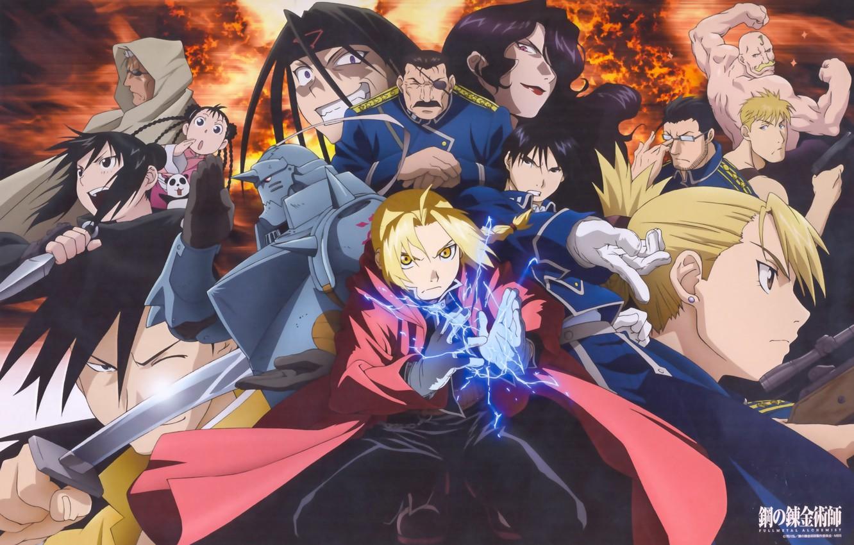 Photo wallpaper Scar, Roy mustang, homunculus, Alchemist Fullmetal
