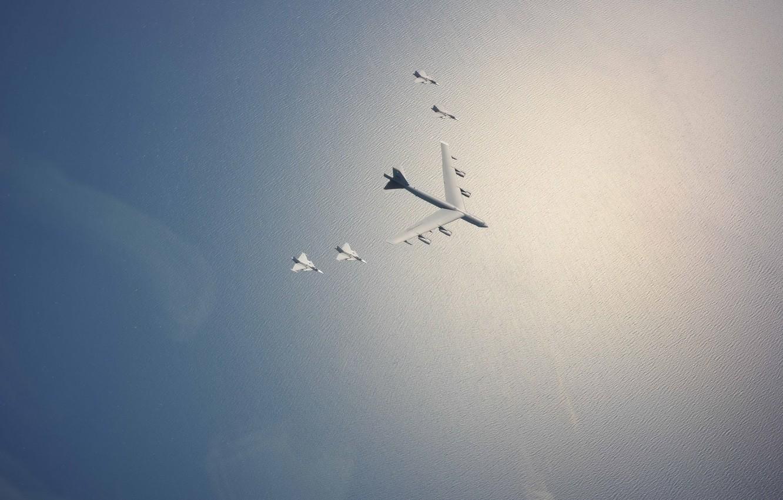 Photo wallpaper the sky, aviation, aircraft