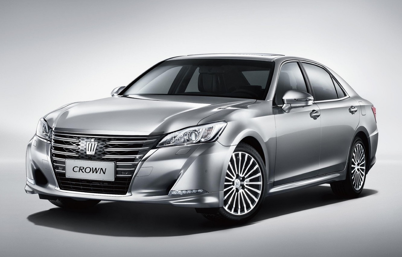 Photo wallpaper Toyota, Toyota, Crown, 2015, crown, S210, CN-spec