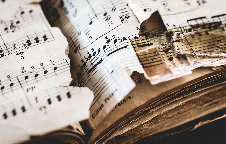 Photo wallpaper music, Beethoven, Pathetique, Sonata No. 8 Op.13