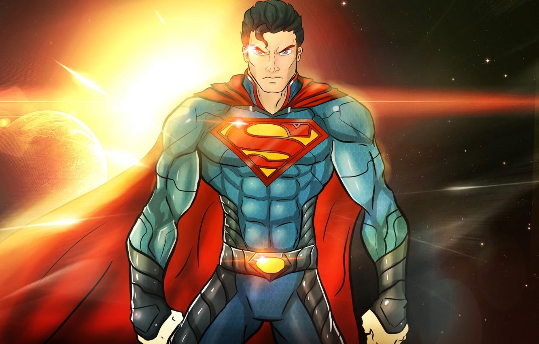 Wallpaper Superman Superhero Dc Comics Man Of Steel Clark Kent Images For Desktop Section Fantastika Download