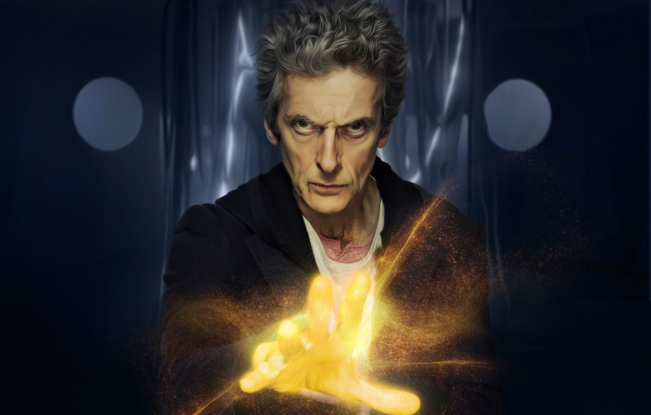 Wallpaper Look Light Hand Glow Art Male Doctor Who Doctor Who
