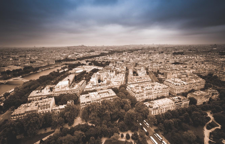Photo wallpaper the city, France, Paris, building, home, channel, Paris, street, France