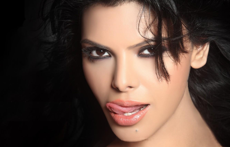 Photo wallpaper girl, actress, beauty, girl, sexy, eyes, smile, beautiful, model, pretty, beauty, lips, face, hair, brunette, …