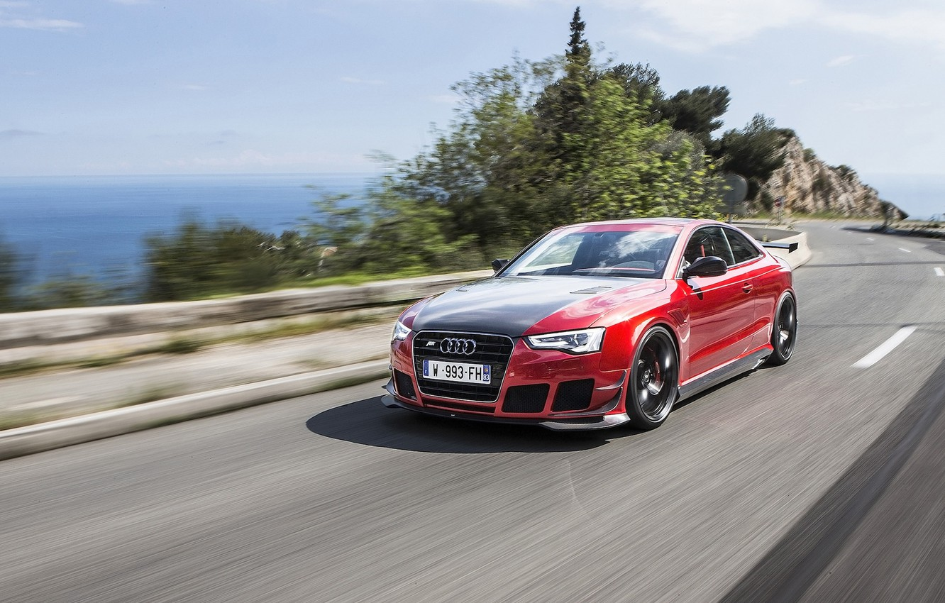 Photo wallpaper Audi, tuning, speed, ABBOT, RS5-R