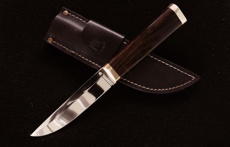 Photo wallpaper background, leather, knife, sheath