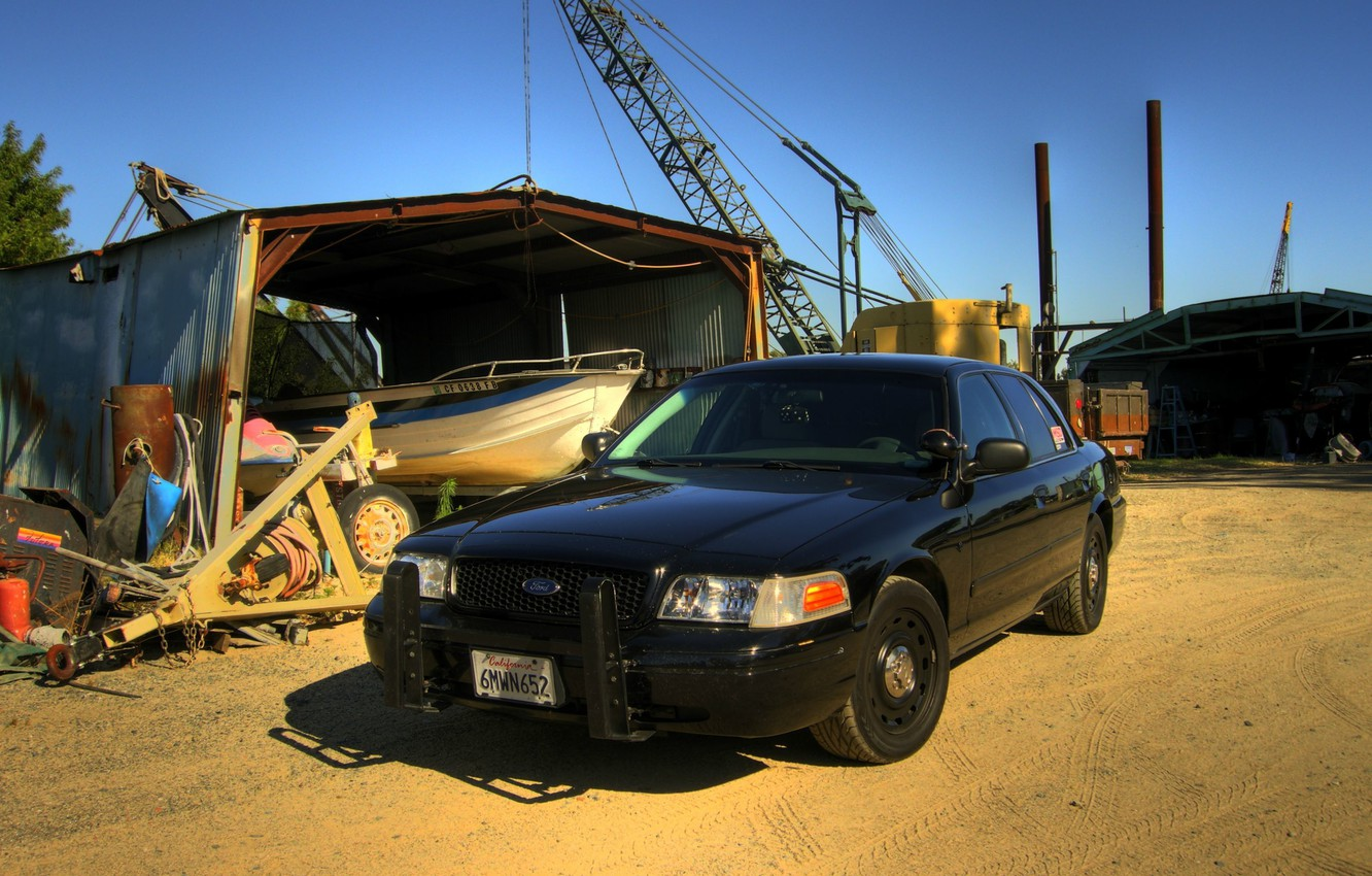 Photo wallpaper Ford, Ford Crown, Crown Victoria, ford crown victoria interceptor, Ford Crown Victoria