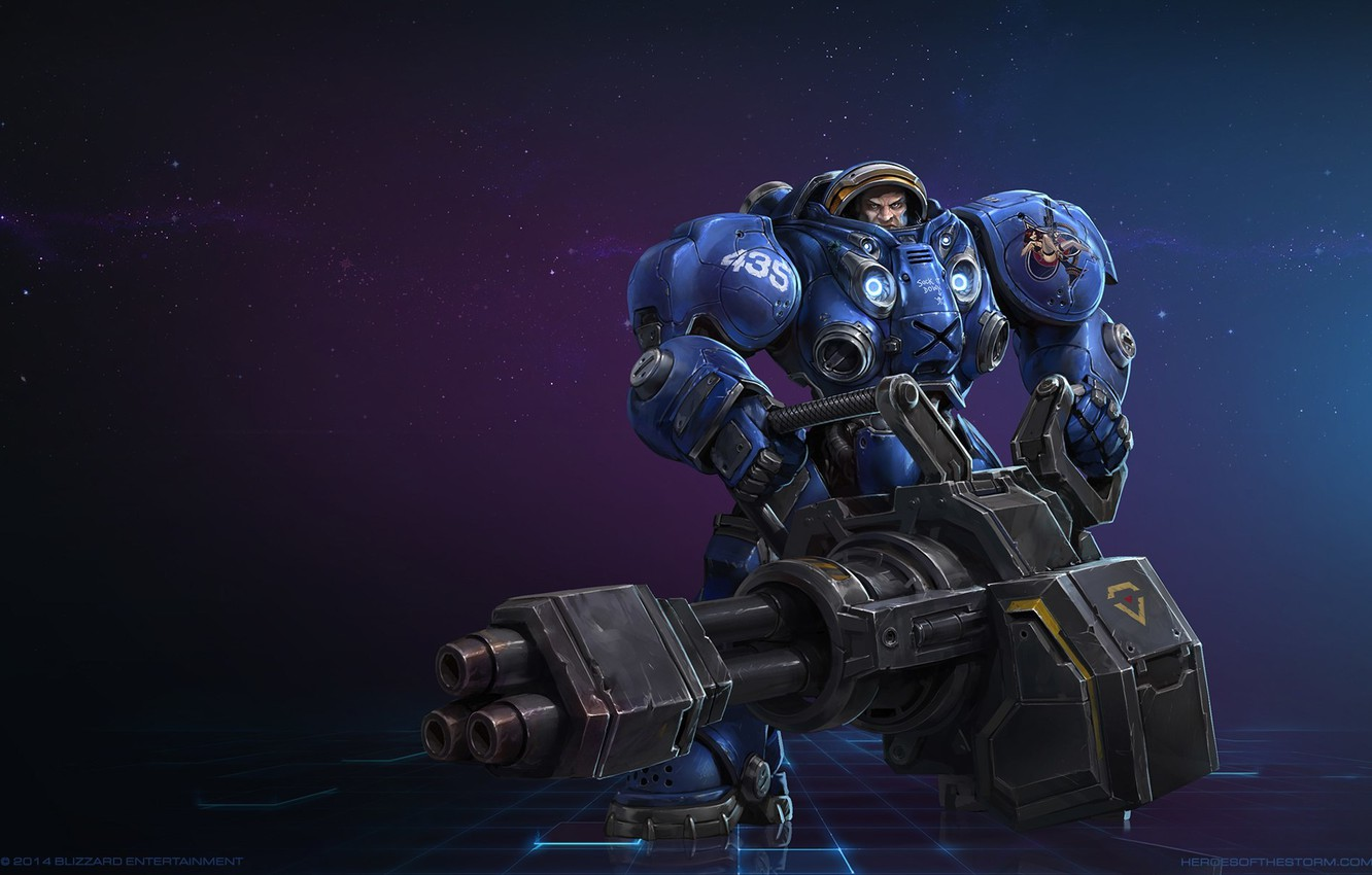 Photo wallpaper Blizzard, StarCraft 2, Heart of the swarm, heroes of the storm