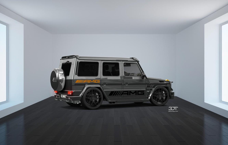 Photo wallpaper Mercedes, GoodFon, 3D tuning