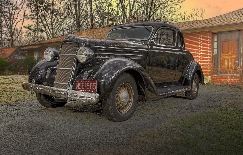 Photo wallpaper retro, classic, 1935, Dodge Coupe