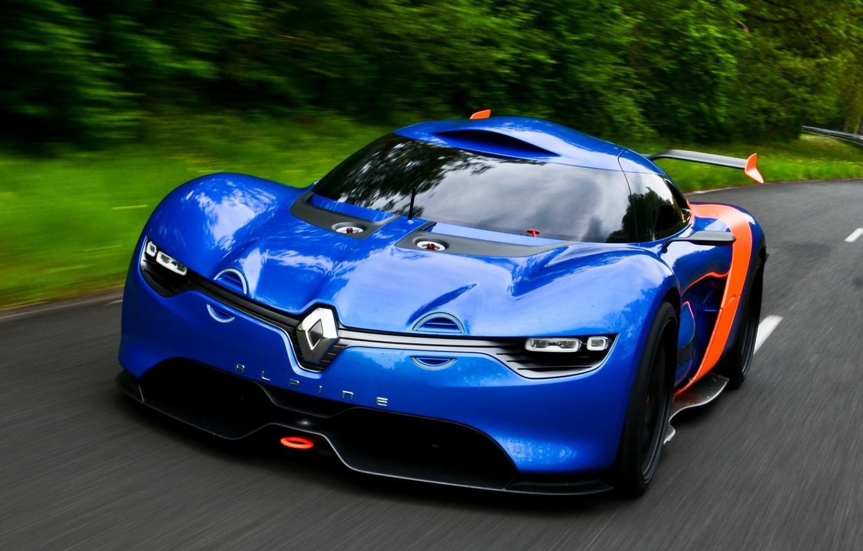 Photo wallpaper auto, Concept, Renault, the concept car, Alpine, A110-50, Renault