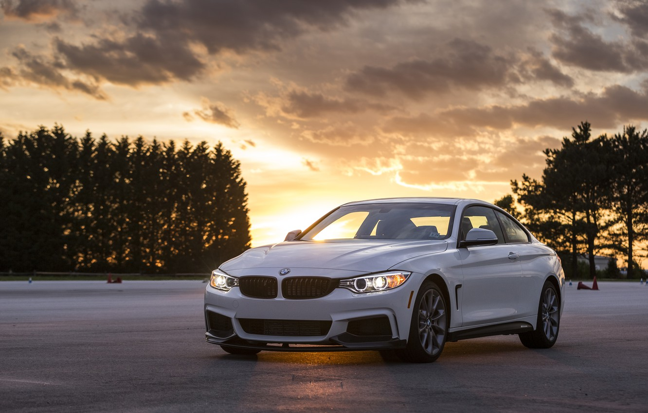 Photo wallpaper BMW, coupe, BMW, Coupe, F32, 2015, 435i, ZHP Edition
