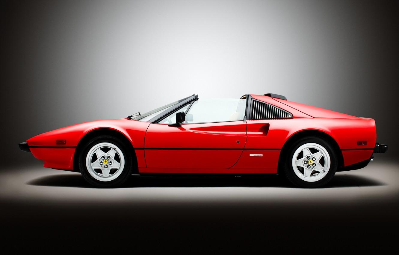 Photo wallpaper red, Ferrari, Ferrari, supercar, Quattrovalvole, us-spec, 308 GTS