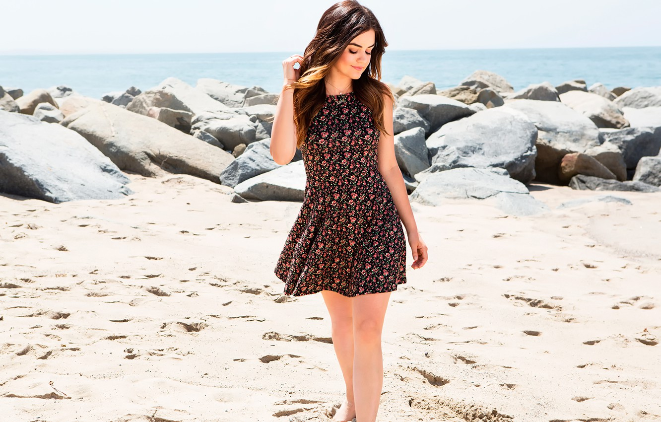 Wallpaper photoshoot, Lucy Hale