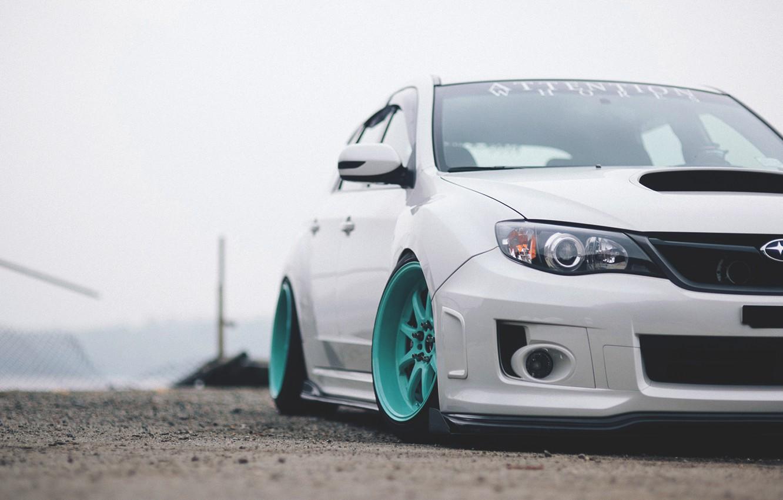 Photo wallpaper subaru, impreza, Subaru, Impreza