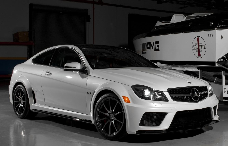 Photo wallpaper car, machine, Wallpaper, tuning, garage, boat, white, white, mercedes, car, black, Mercedes, auto, benz, tuning, …
