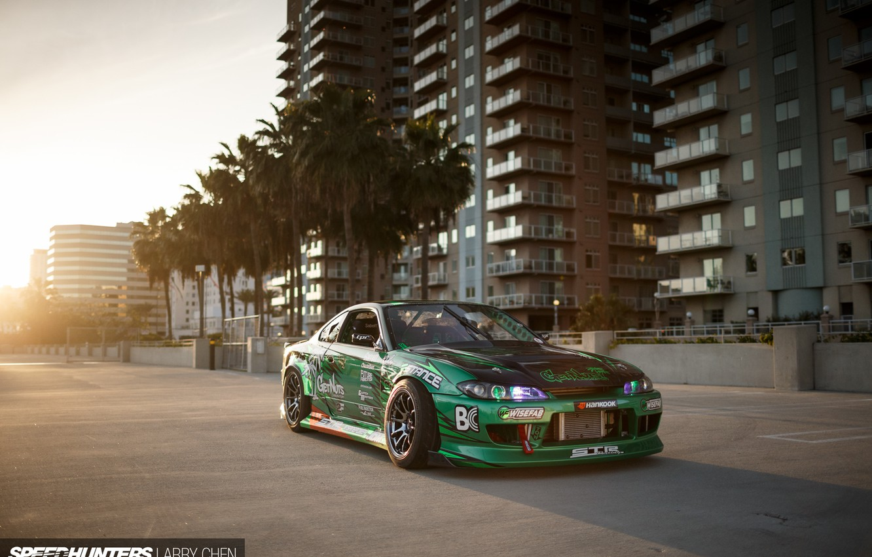 Photo wallpaper S15, Silvia, Nissan, Speedhunters, Tuning Car