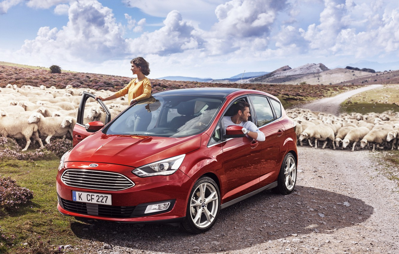 Photo wallpaper Ford, Ford, 2015, C-MAX
