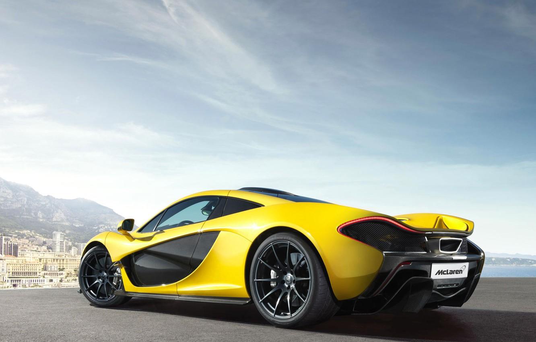 Photo wallpaper McLaren, supercar, hypercar, P1