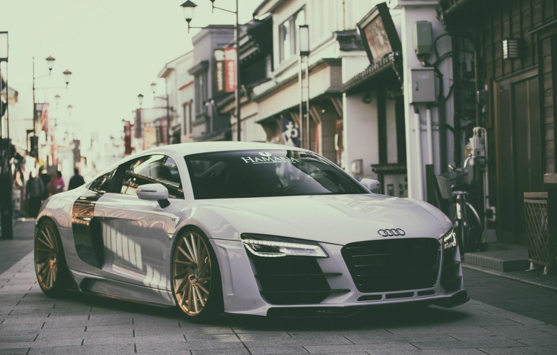 Photo wallpaper Audi, audi, speed, sportcar, fast
