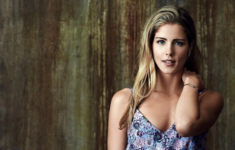 Photo wallpaper girl, actress, blonde, the series, Arrow, Arrow, season 2, Emily Bett Rickards, Felicity Smoak, Emily …