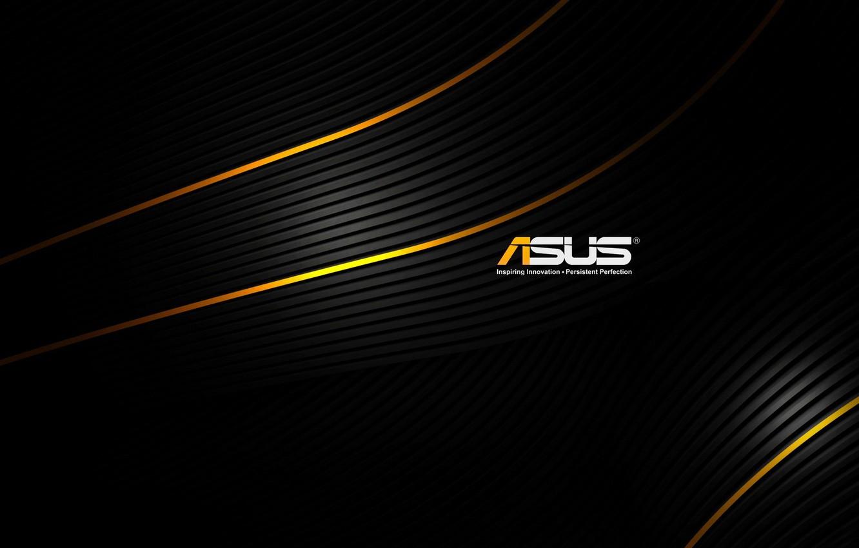 Photo wallpaper logo, emblem, games, Asus