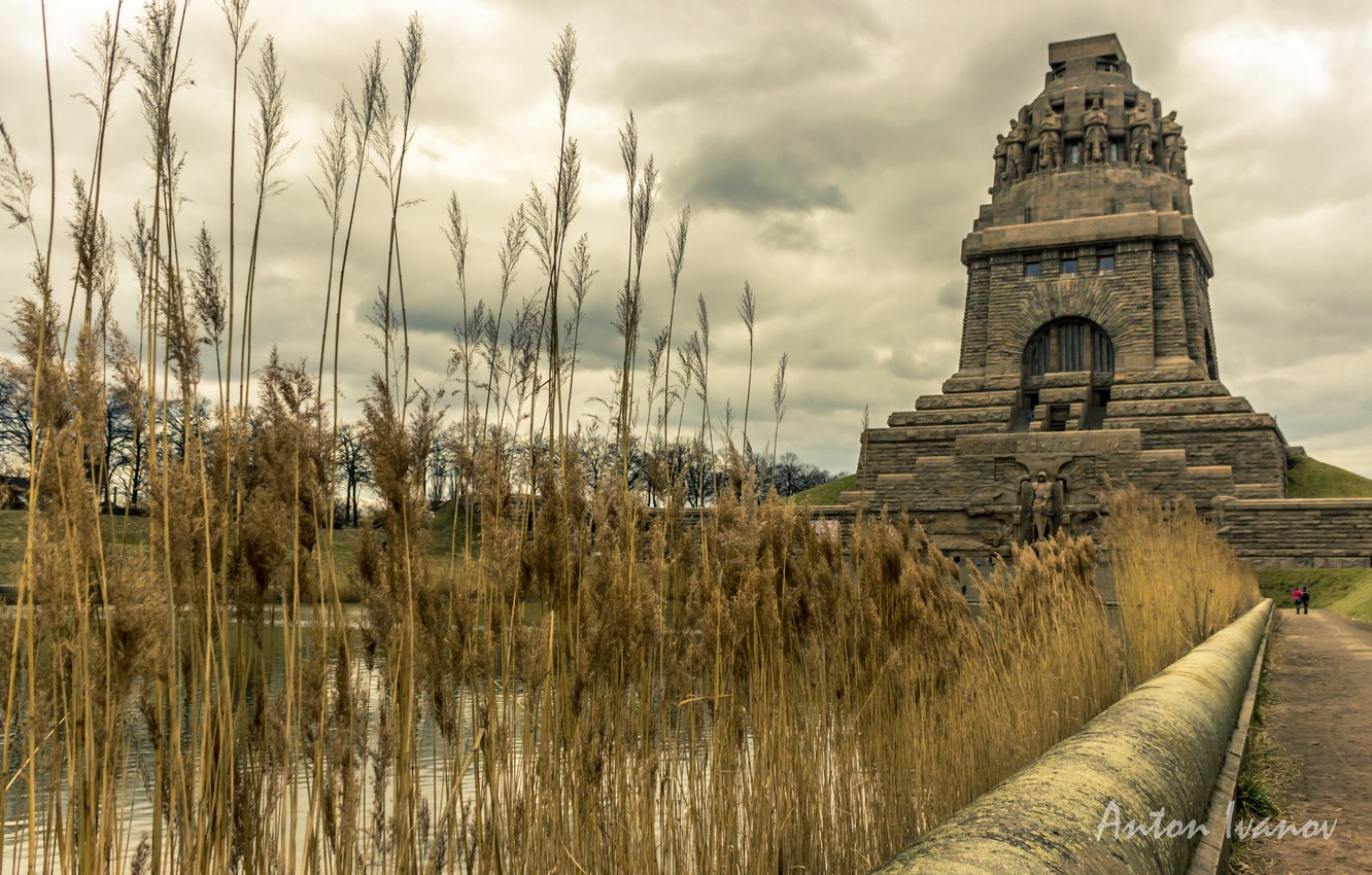 Wallpaper Germany Germany Germany Leipzig The Leipzig The Battle Of The Nations Monument The Volkerschlachtdenkmal Images For Desktop Section Gorod Download