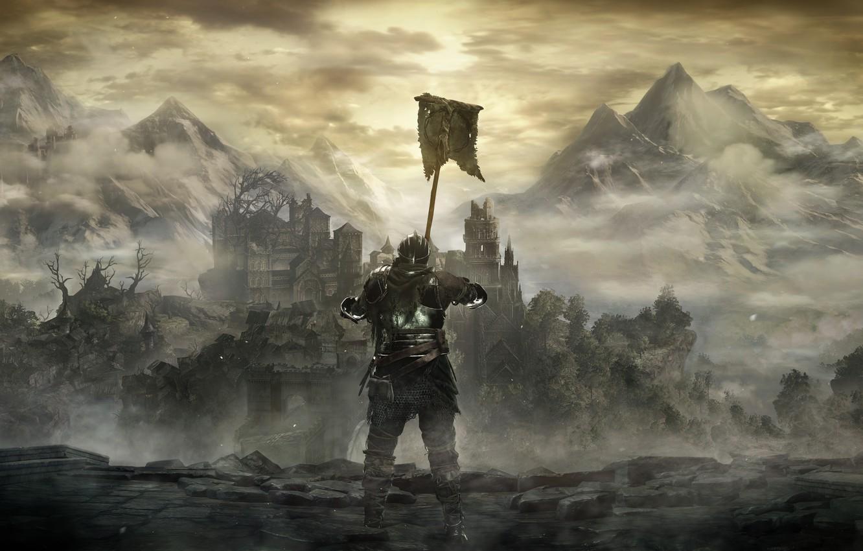 Photo wallpaper Namco Bandai Games, From Software, Dark Souls 3, Dark Souls III