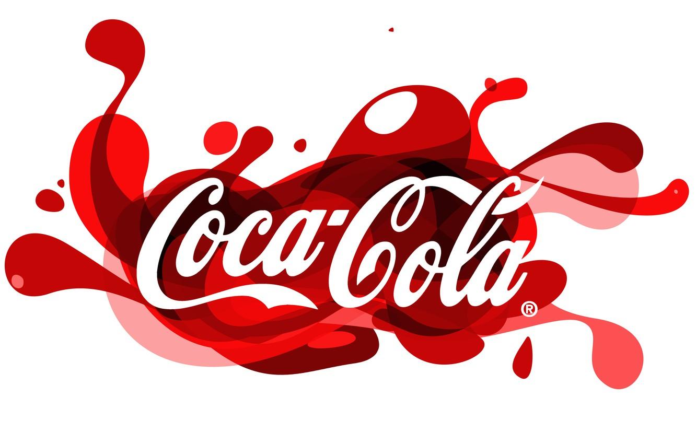 Photo wallpaper red, logo, logo, coca-cola, funky, Coca-Cola