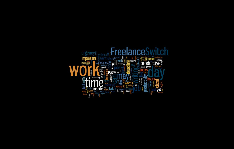 Photo wallpaper text, letters, background, black, minimalism, font