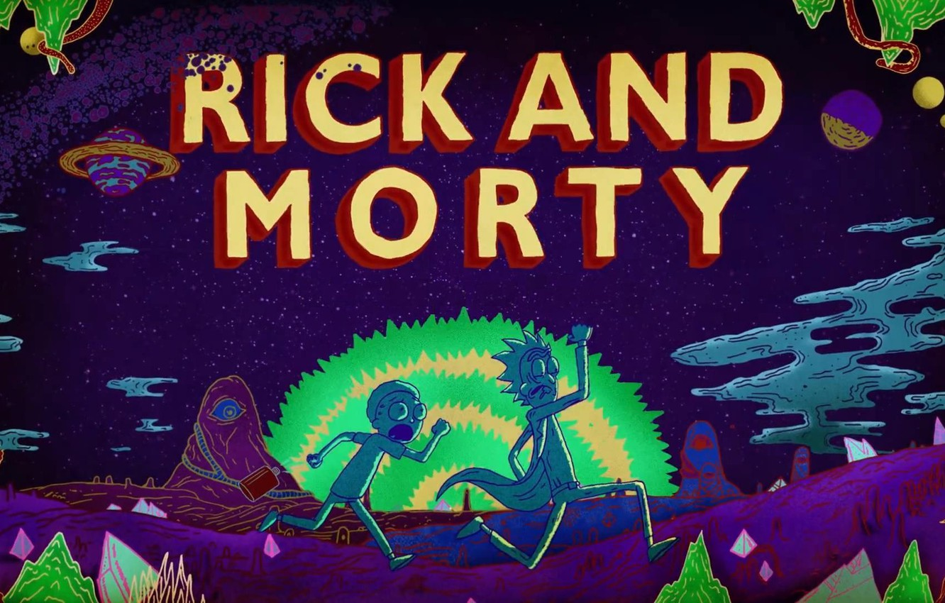 Wallpaper Cartoon Rick Rick And Morty Justin Roiland Rick And