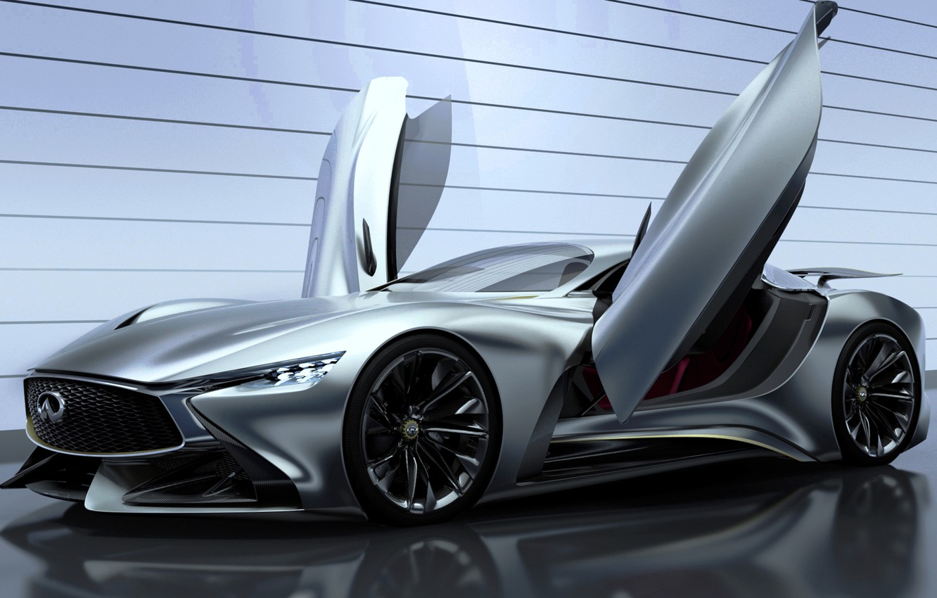 Photo wallpaper Concept, Infiniti, Vision, infiniti, Gran Turismo, 2014