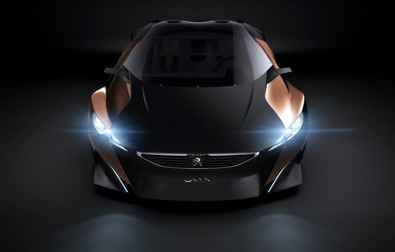 Photo wallpaper Concept, Peugeot, Onyx