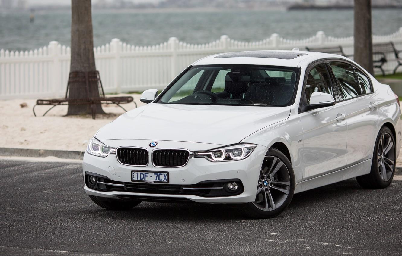 Photo wallpaper BMW, BMW, sedan, F30, Sedan, 3-Series