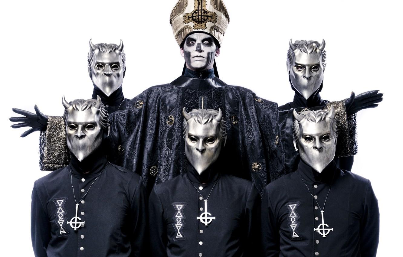 Photo Wallpaper Ghost Band Heavy Metal Swedish Nameless Ghouls Papa Emeritus