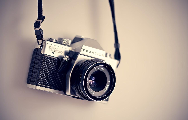 Photo wallpaper camera, the camera, practice, photocamera, super TL 1000, praktica