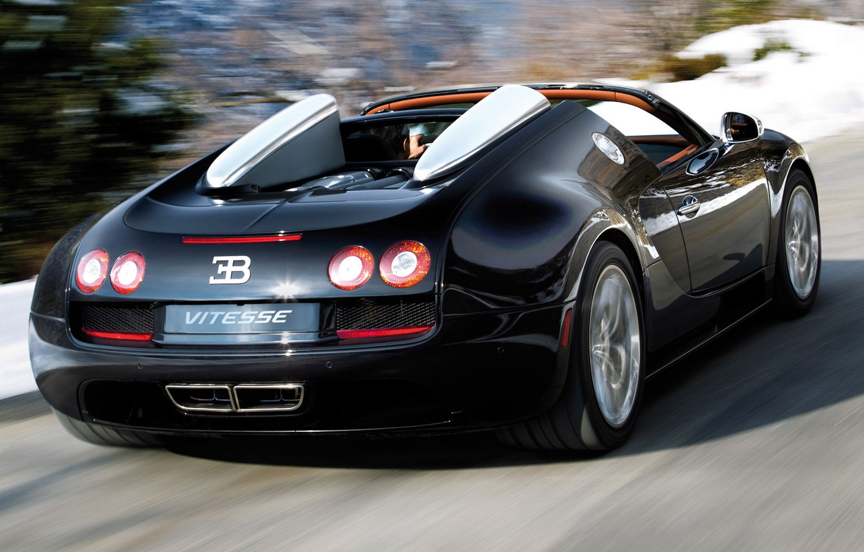 Photo wallpaper Bugatti, Veyron, Grand Sport, Vitesse