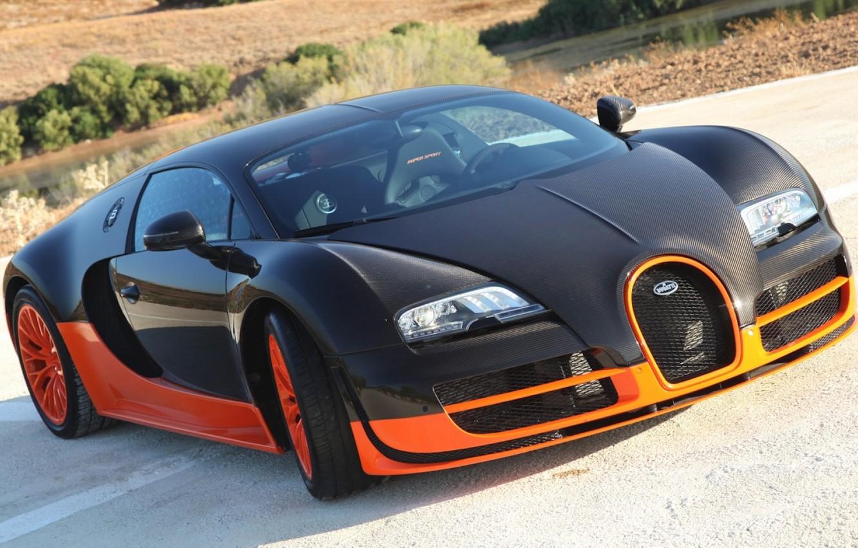Photo wallpaper car, Bugatti, Veyron, supercar, wallpapers, Super Sport, 16.4