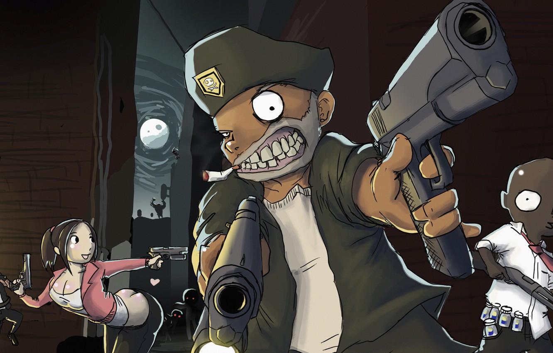 Wallpaper The Game Zombies Survival Valve Left 4 Dead