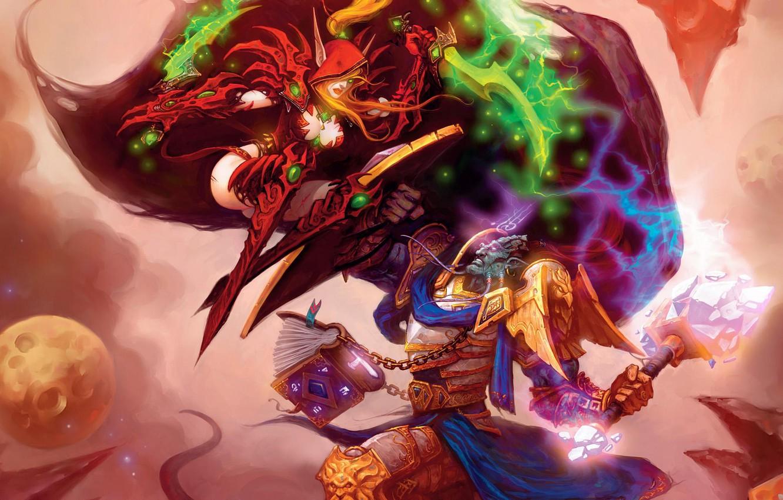Wallpaper World Of Warcraft Battle The Burning Crusade