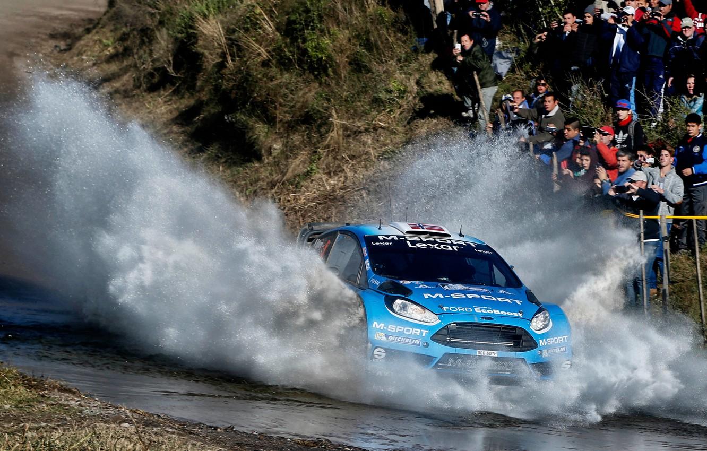Photo wallpaper Ford, Squirt, WRC, Rally, Fiesta