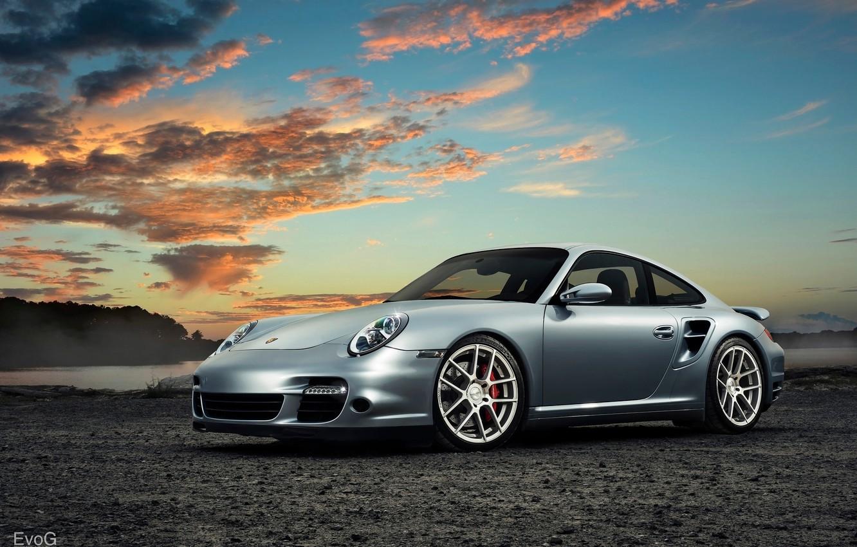 Photo wallpaper Porsche 911 Turbo, EvoG Photography, Evano Gucciardo, Avant Garde Wheels