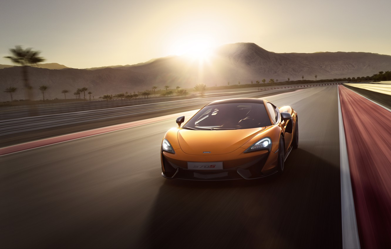 Photo wallpaper coupe, McLaren, Coupe, McLaren, 2015, 570S