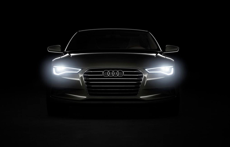 Photo wallpaper Audi, The concept, A-7