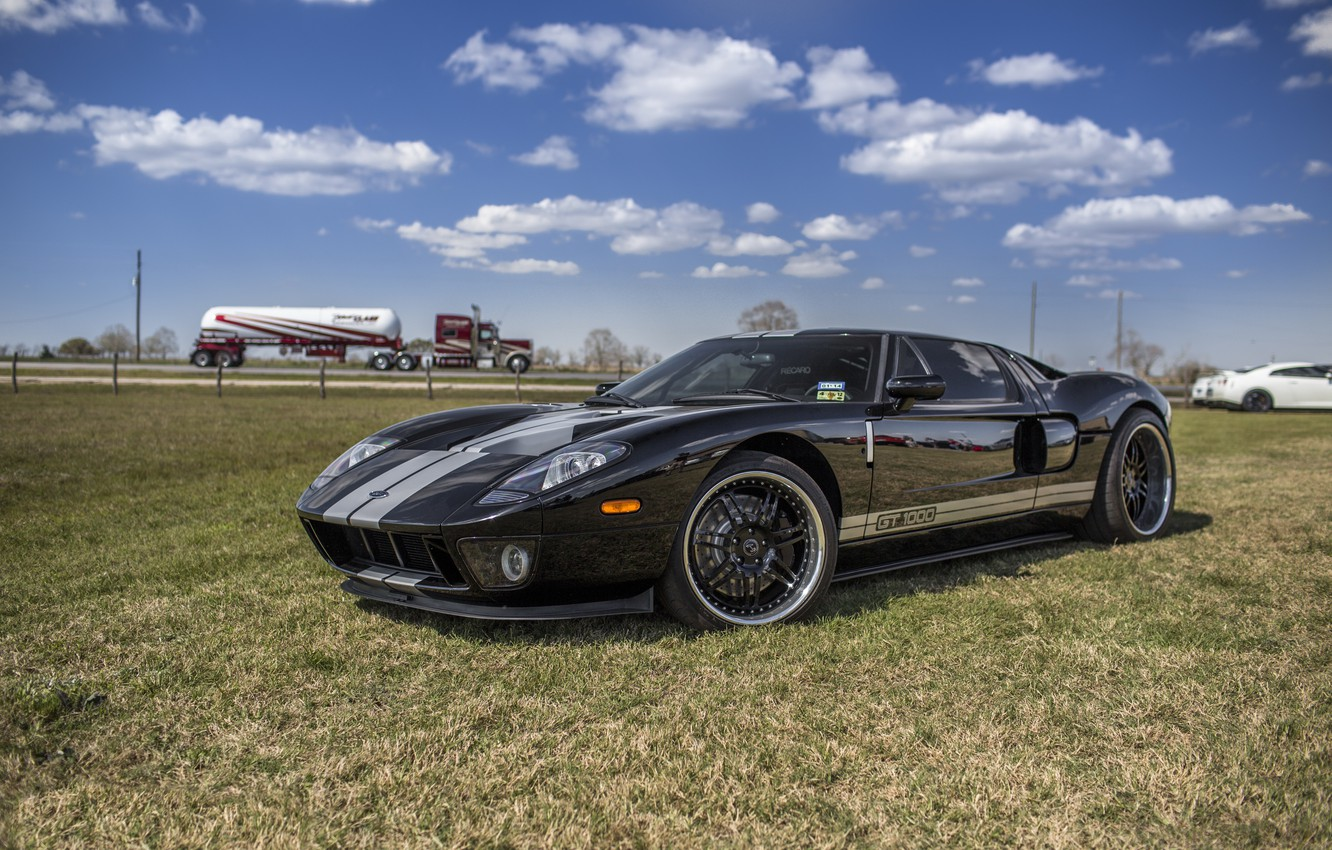 Photo wallpaper Ford, Turbo, Hennessey, Twin, GT1000